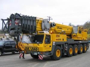 Grove GMK5275 275 Ton Crane Service