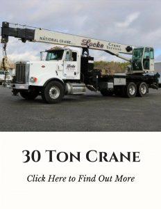 Boom truck 30 Ton Crane Service