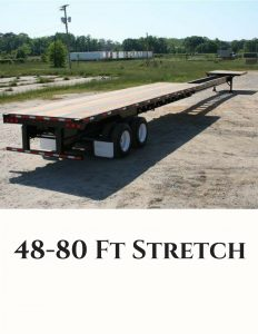 Stretch Trailer Trucking Services
