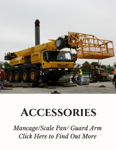 Man Basket Scale Pan and Guard Arm