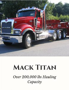Mack Titan Trucking Services