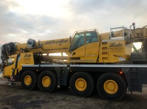 Grove GMK4100 100 Ton Crane Service